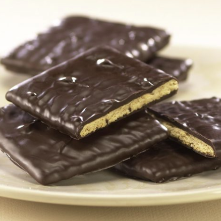 Milk or Dark Chocolate Covered Graham Cracker (qty 3)