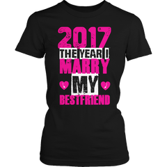 Limited Edition -2017 marry best friend (pink / black)- ws