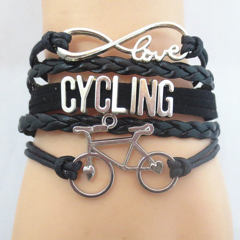Infinity Love Cycling Fitness Bracelet