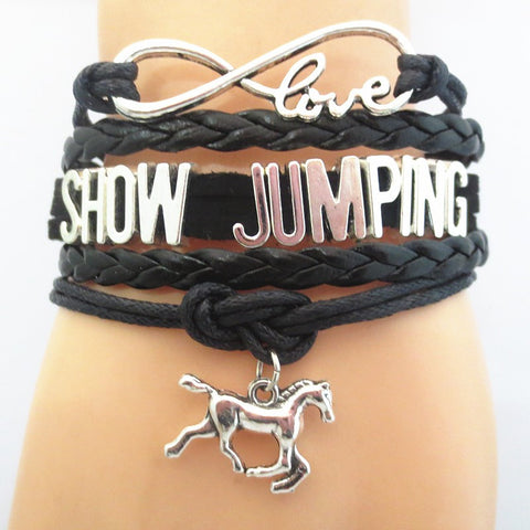 Infinity Love Show Jumping Bracelet