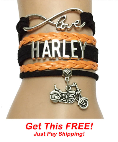 FREE Infinity Love Harley Bracelet - Just Pay Shipping