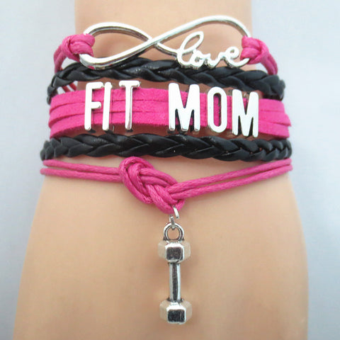 Infinity Love Fit Mom Bracelet BOGO