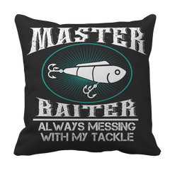 Master Baiter Fishing Pillow Case