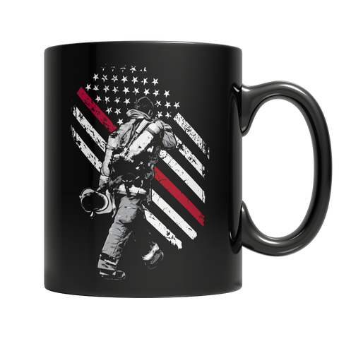 Firefighter Exclusive Thin Red Line - Coffee Mug
