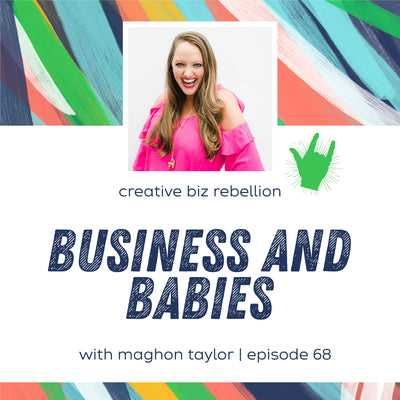 Maghon Featured on the Creative Biz Rebellion Podcast
