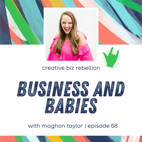 maghon taylor podcast interview creative biz rebellion