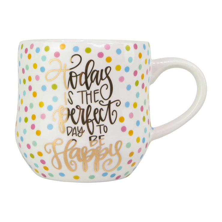 Confetti Mug - Perfect Day to Be Happy