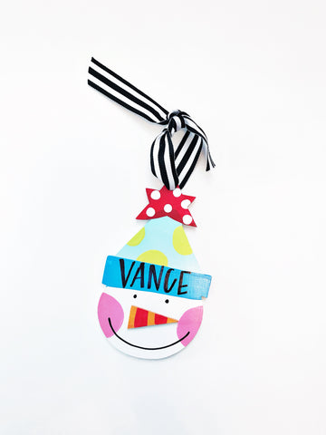 Personalized Christmas Ornaments 2017
