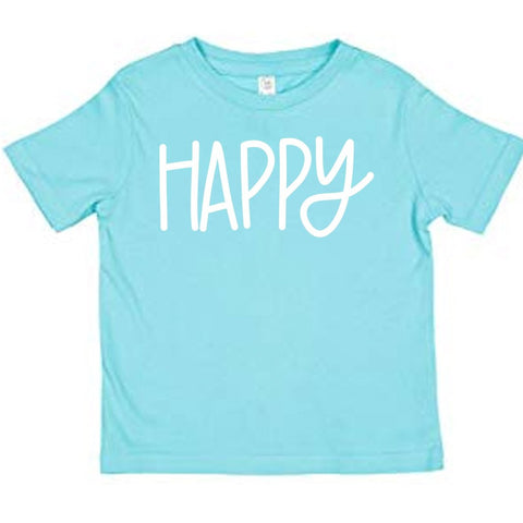 Toddler TShirt - Happy