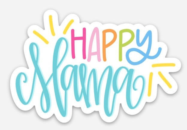 Sticker - Happy Mama
