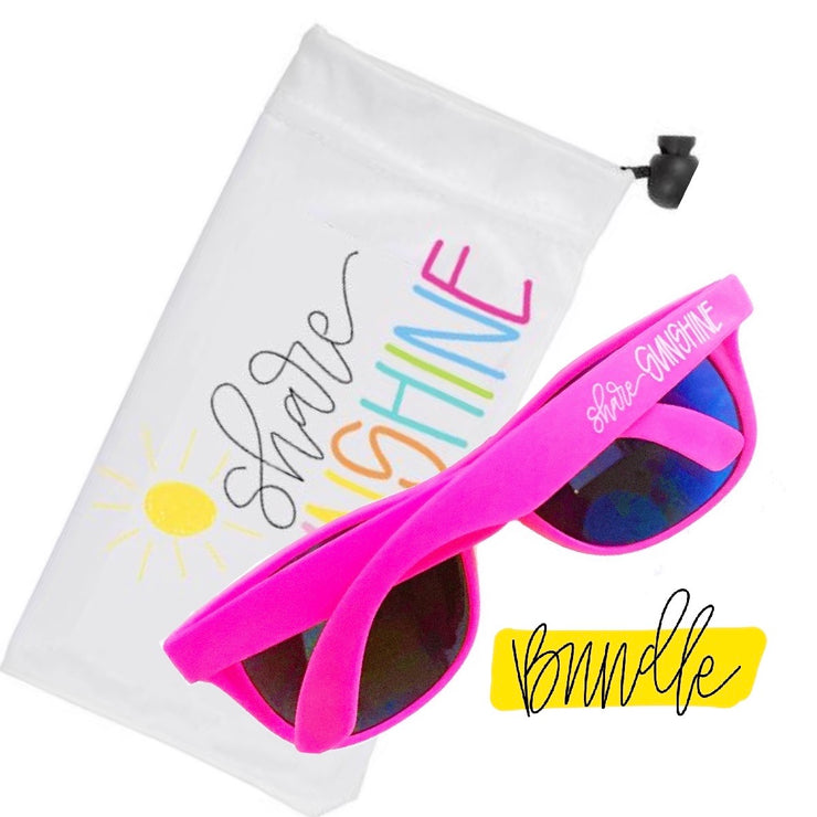 Bundle- Sunglasses and Pouch