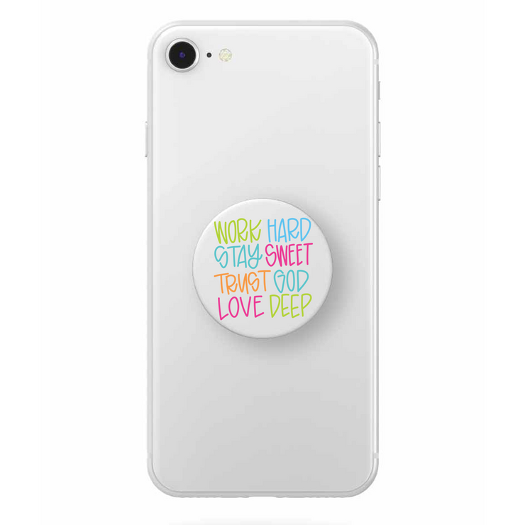 Life Motto Popsocket