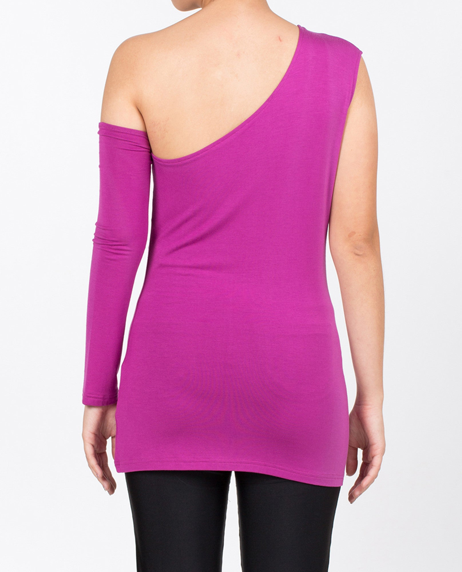 Caroline One-Shoulder - Purple