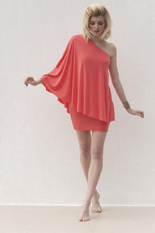 Kayla Dress - Coral