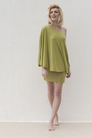 Kayla Dress - Lime Green