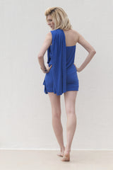 Milly Dress - Blue