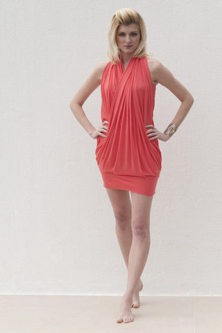 Milly Dress - Coral