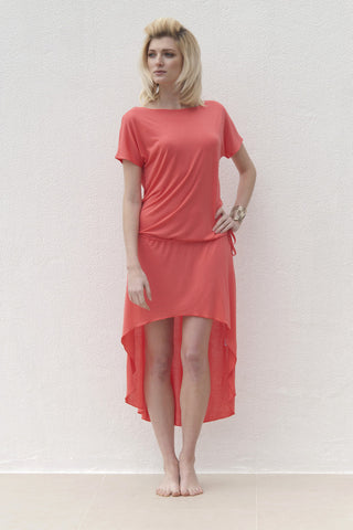 Molly Dress - Coral