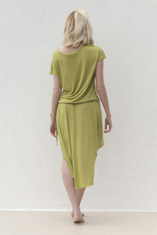 Molly Dress - Lime Green