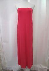 Taylor Strapless Dress - Hot Pink