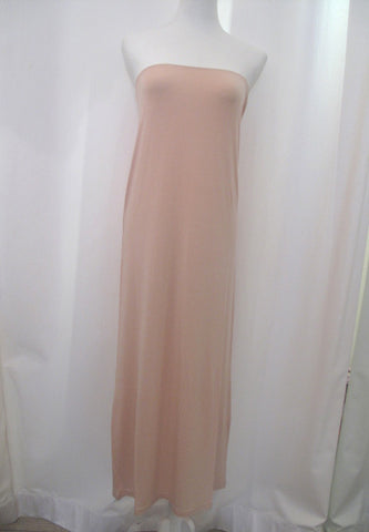 Taylor Strapless Dress - Nude