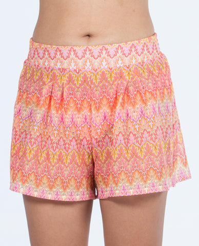Shorts - Multi Orange