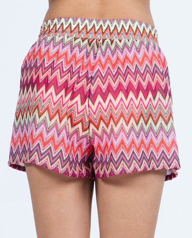 Shorts - Multi Red