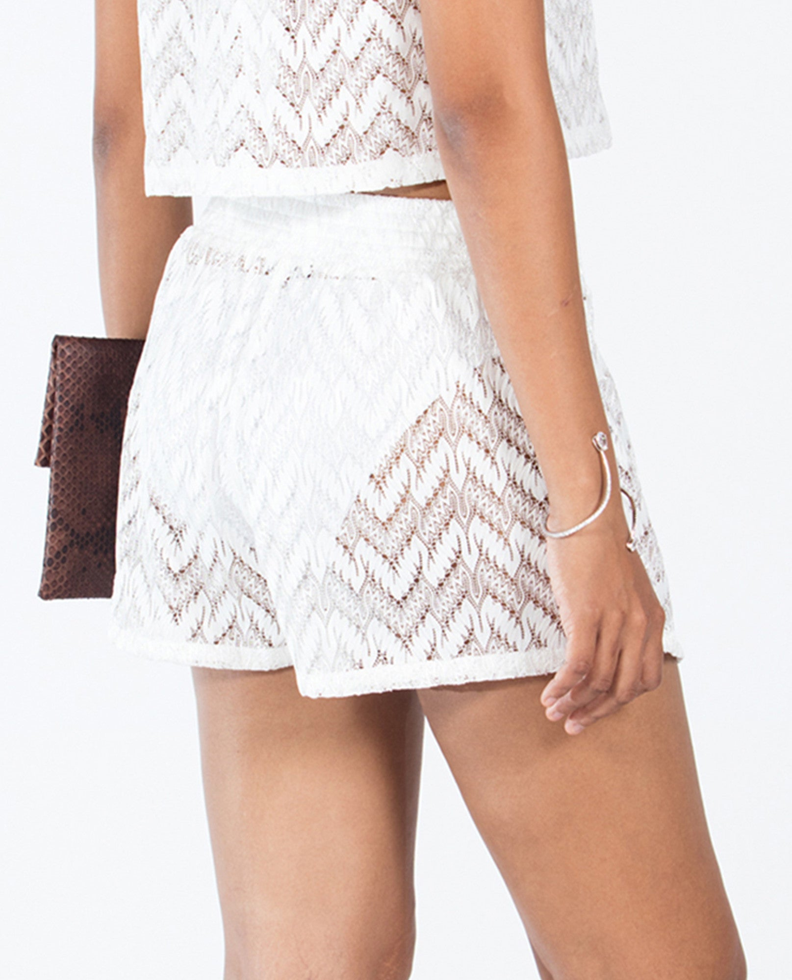 Shorts - Solid White