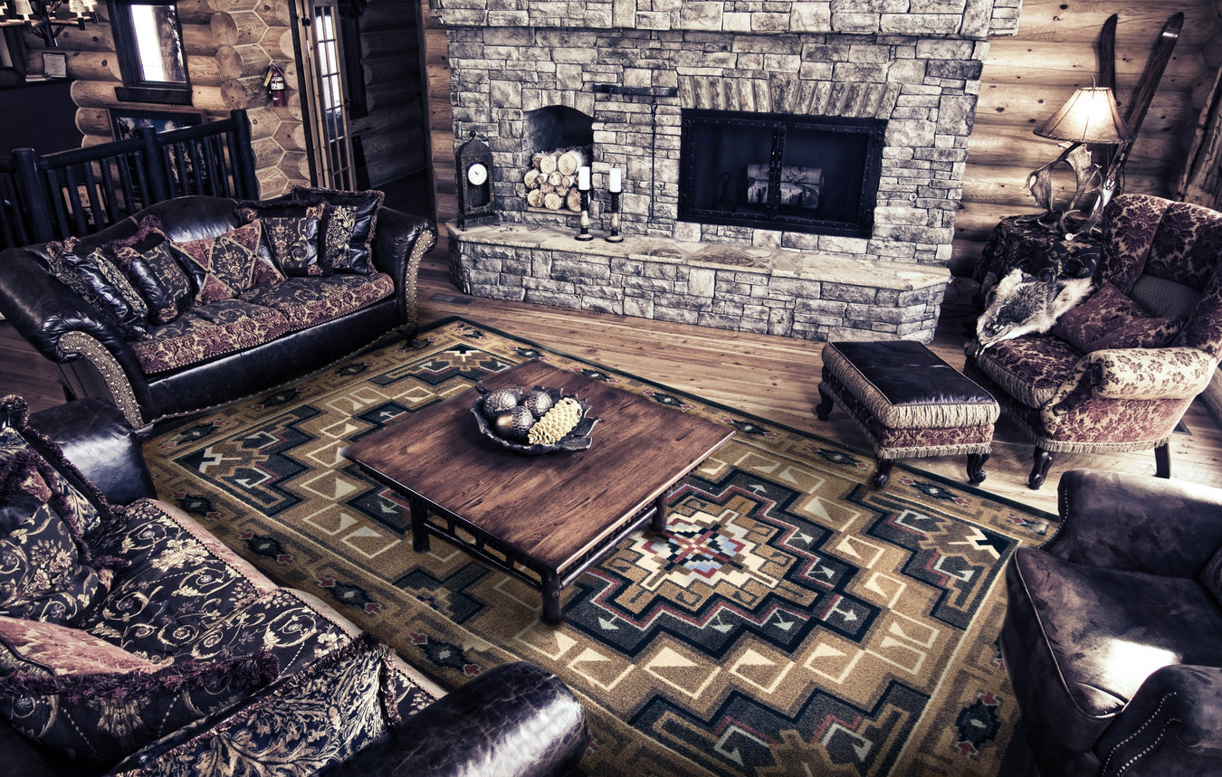 Cabin Rugs and Rustic Rugs Collection | The Cabin Shack