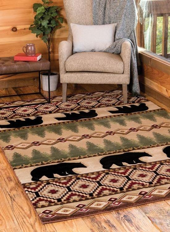 Bear Rugs and Black Bear Rugs | The Cabin Shack