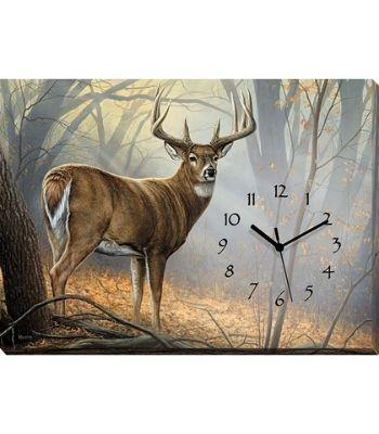 Canvas Clocks for Cabins | The Cabin Shack