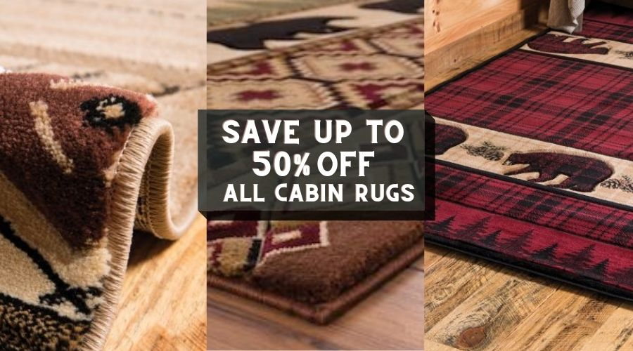 Cabin Rugs and Rustic Rugs Sale | The Cabin Shack