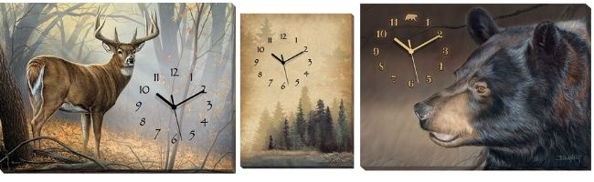 Canvas Clocks Best Sellers | The Cabin Shack