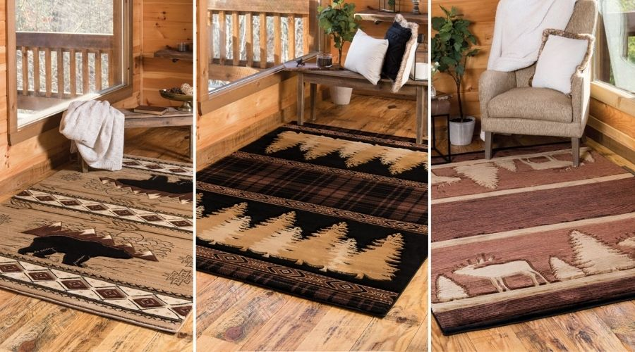 Mountain Rugs and Mountain Lodge Rugs | The Cabin Shack