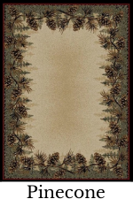 Pinecone Rugs | The Cabin Shack