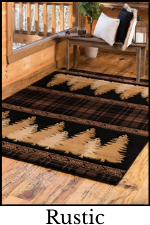Rustic Rugs and Cabin Rugs | The Cabin Shack