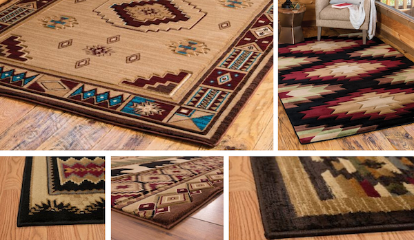 Southwestern Rugs Examples | The Cabin Shack