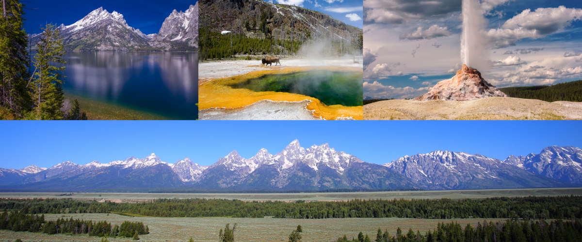 Mountain Getaways in Yellowstone National Park and Grand Teton National Park
