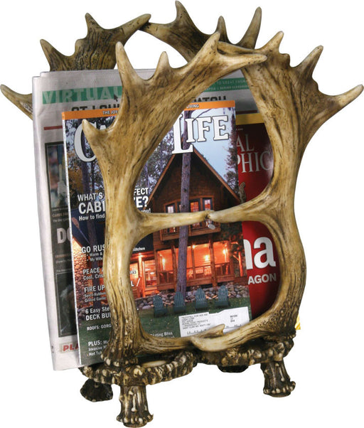 Moose Decor | Antler Decor | Magazine Holder | The Cabin Shack