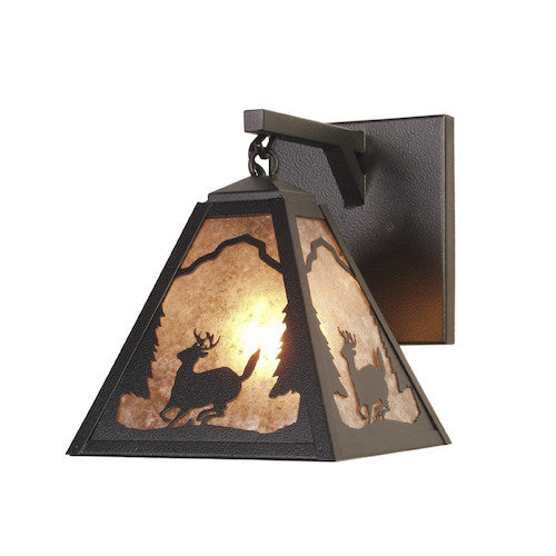 Rustic Lighting | Deer Hanging Sconce | The Cabin Shack