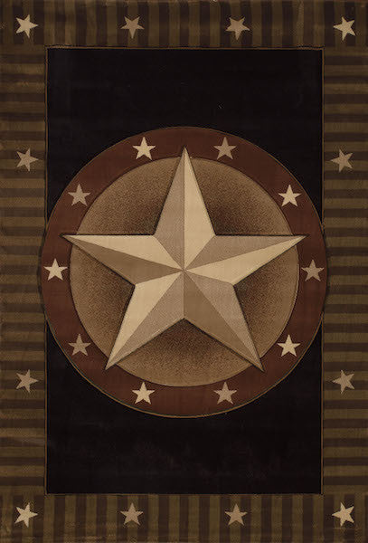 Rodeo Star Rustic Lodge Rug Collection | The Cabin Shack