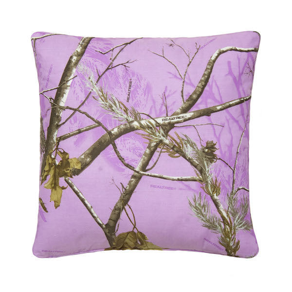 Realtree Camo Throw Pillows | AP Lavender | The Cabin Shack