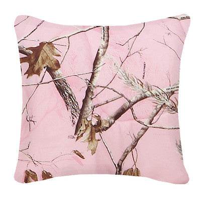 Realtree Camo Throw Pillows | AP Pink | The Cabin Shack