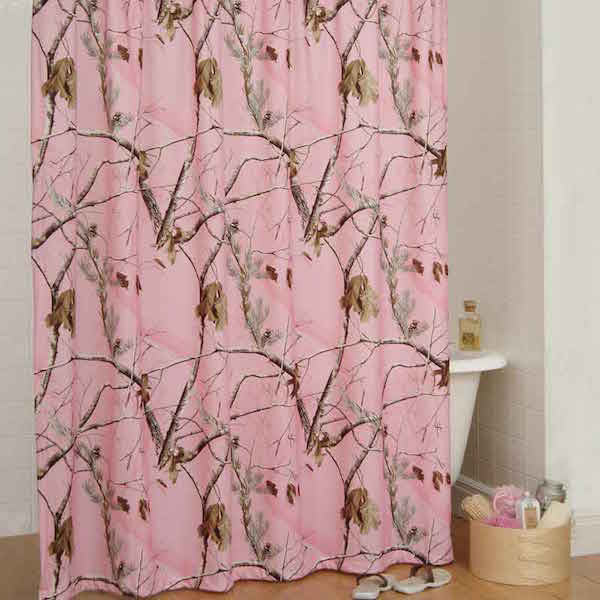 Realtree AP Pink Shower Curtain | The Cabin Shack