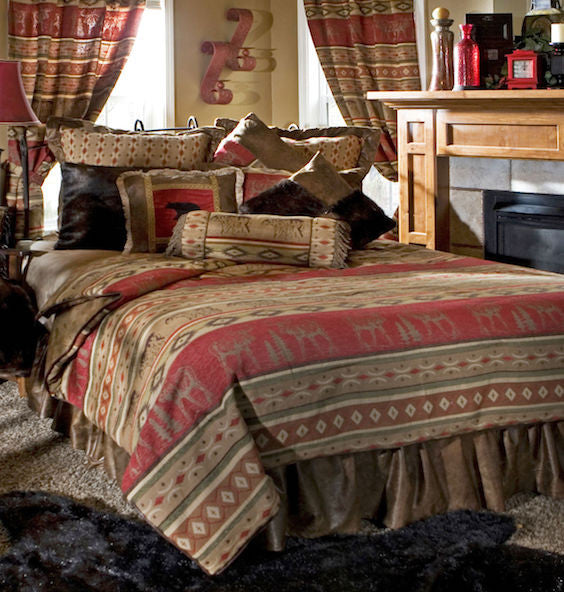 High Point Rustic Bedding Collection | The Cabin Shack