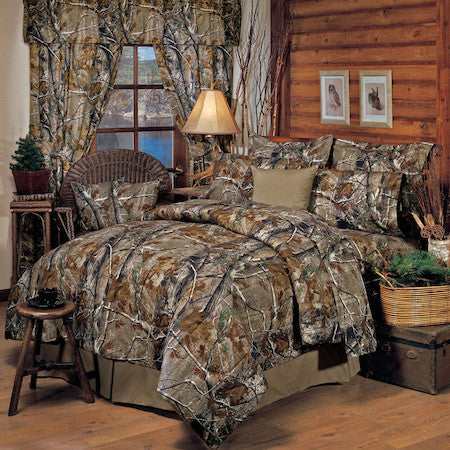 Realtree All Purpose Bed Set | Cabin Bedding | The Cabin Shack