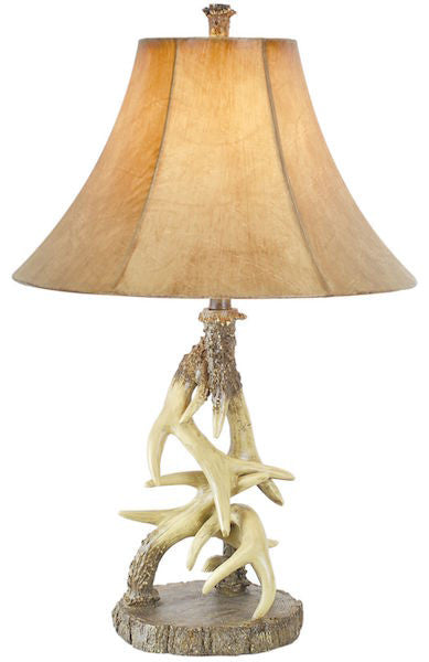 Antler Table Lamp for Rustic Decor | The Cabin Shack