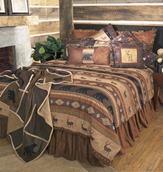 Rustic Bedding | Autumn Trails Cabin Bedding | The Cabin Shack