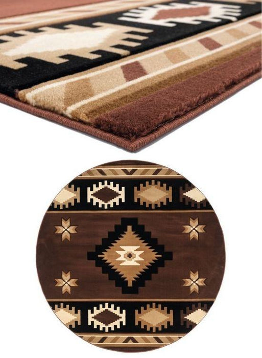 Brown Eye Rug Collection | The Cabin Shack