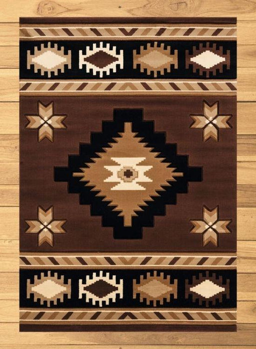 Brown Eye Rug Overview | The Cabin Shack